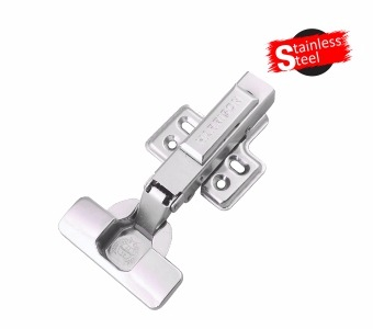 Stainless Steel Clip-on Hydraulic Hinge-0 Degree